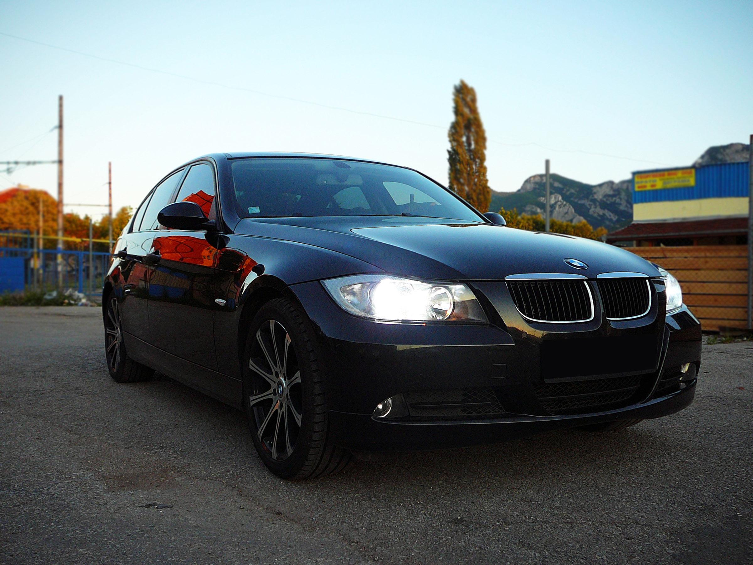 BMW E90 320d - Тест-драйв - фотография №14