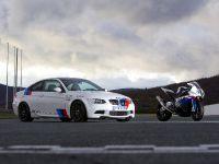 BMW E92 M3 vs BMW S 1000 RR Superbike