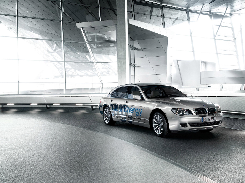 BMW Hydrogen 7 рулонов в Лос-Анджелес, чтобы завершить 2008 Hydrogen Road Tour - фотография №4