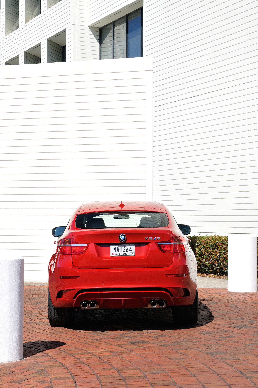 BMW X6 M и BMW X5 M Make World дебютирует в 2009 году - фотография №2