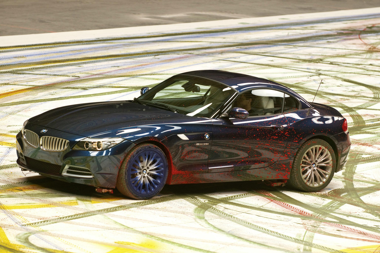 Выражение радости: картины динамики, созданные нового BMW Z4 - фотография №5