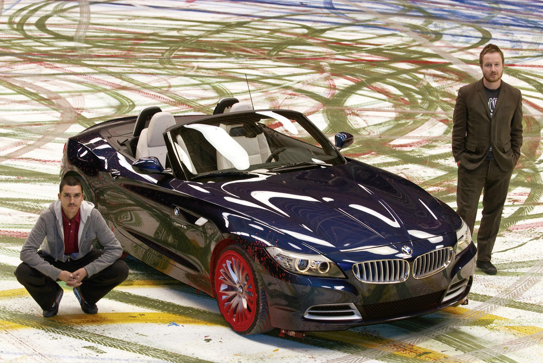 Выражение радости: картины динамики, созданные нового BMW Z4 - фотография №6