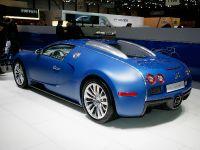 Bugatti Veyron Bleu Centenaire Geneva 2009