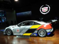 Cadillac CTS-V Coupe race car Detroit 2011