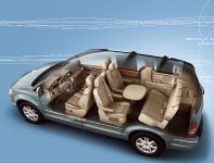 Chrysler Town & Country Wins Ward Interior