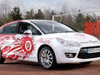 Citroen C4 Aresenal Fans Car