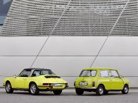Classic MINI and Porsche 911