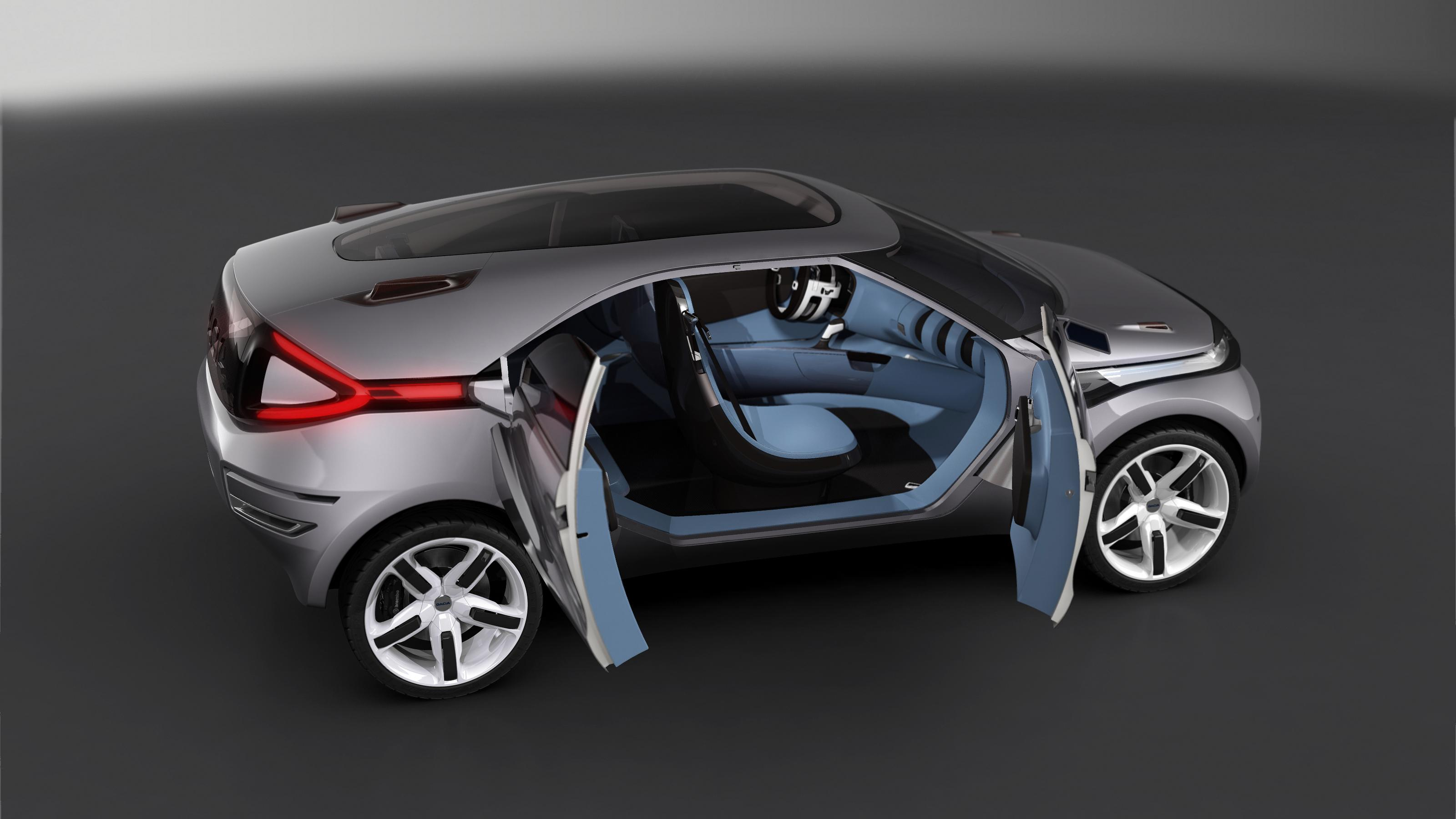 Dacia Duster Crossover Concept – очень много фотографий в высоком разрешении - фотография №6
