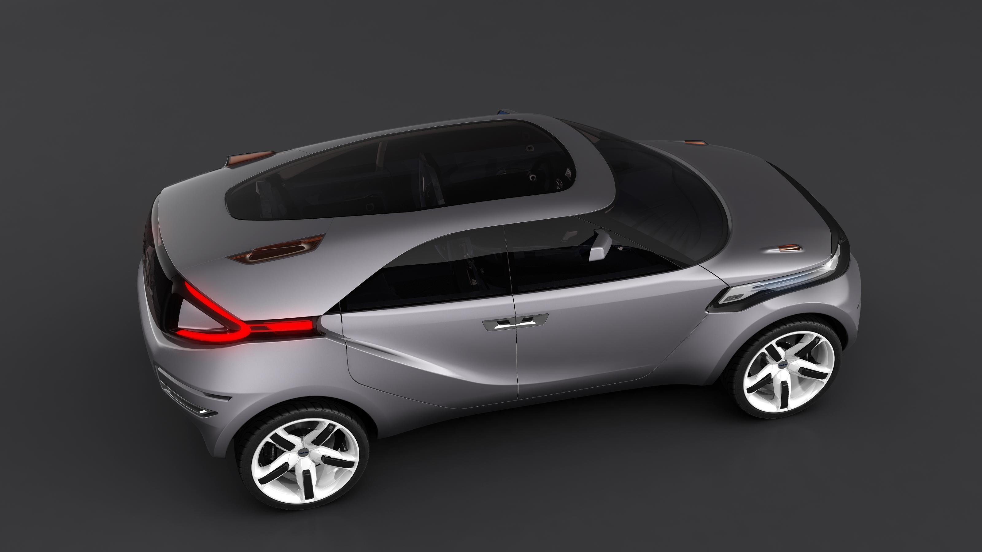 Dacia Duster Crossover Concept – очень много фотографий в высоком разрешении - фотография №10