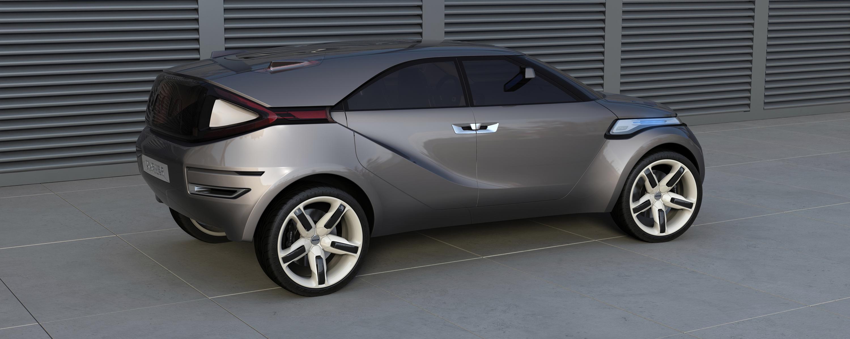 Dacia Duster Crossover Concept – очень много фотографий в высоком разрешении - фотография №24
