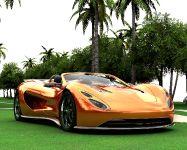 Eco-Exotic ScorpionTM Supercar