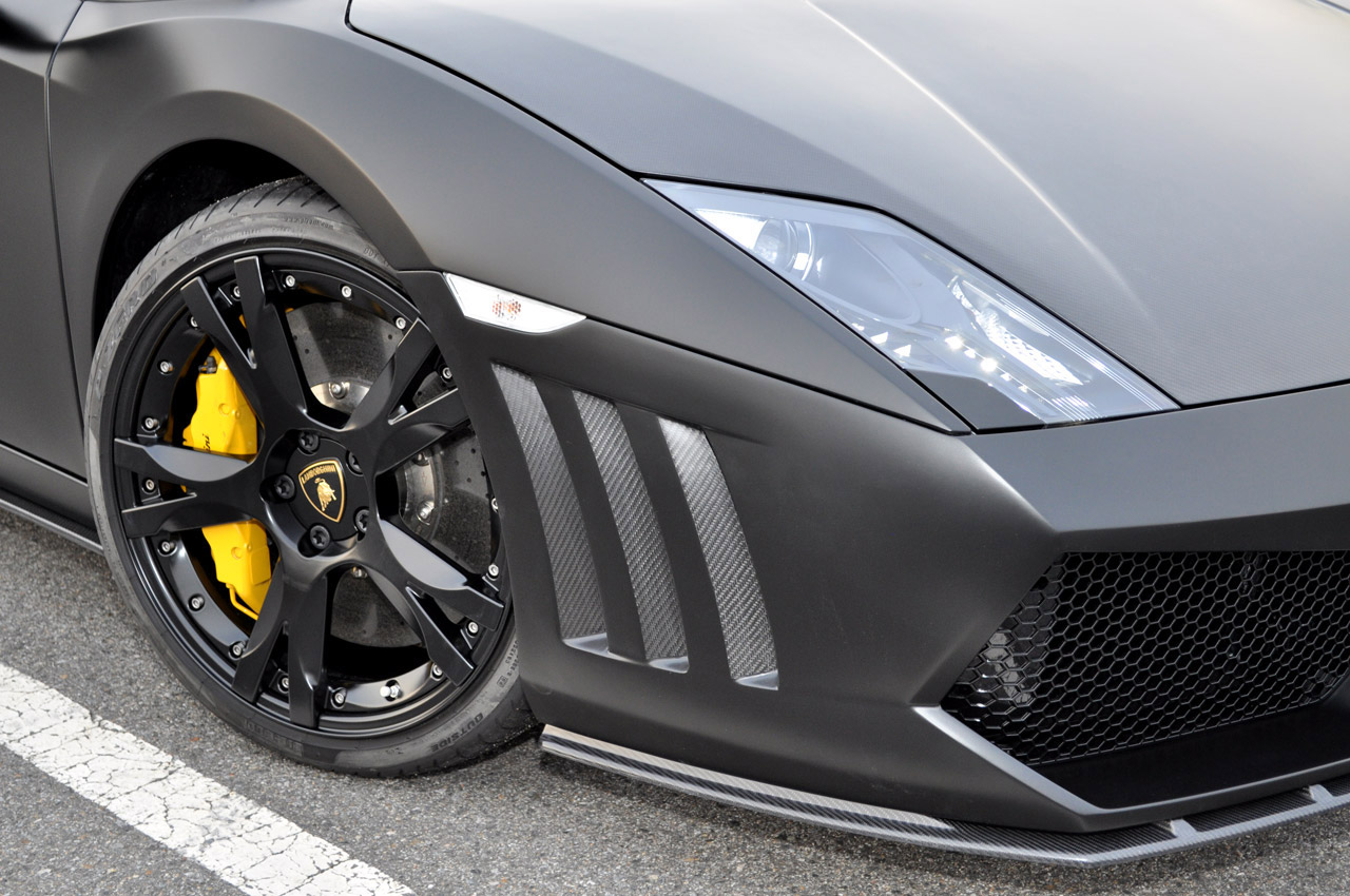 Углерода в стиле Lamborghini Gallardo LP 560-4 по ENCO Exclusive - фотография №3