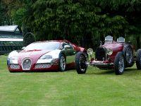 Ettore Bugatti Type 35 Grand Prix and Bugatti Veyron