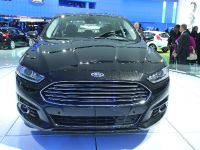 Ford Fusion EcoBoost Detroit 2013