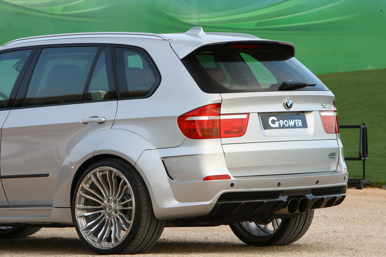 G-POWER X5 TYPHOON - сильнейший внедорожник BMW - фотография №11