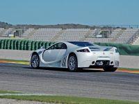 GTA Spano at Ricardo Tormo Circuit