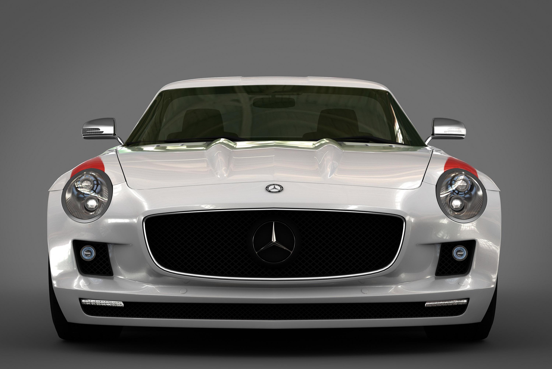 GWA Panamericana styling kit за 2010 Mercedes-Benz SLS - фотография №1