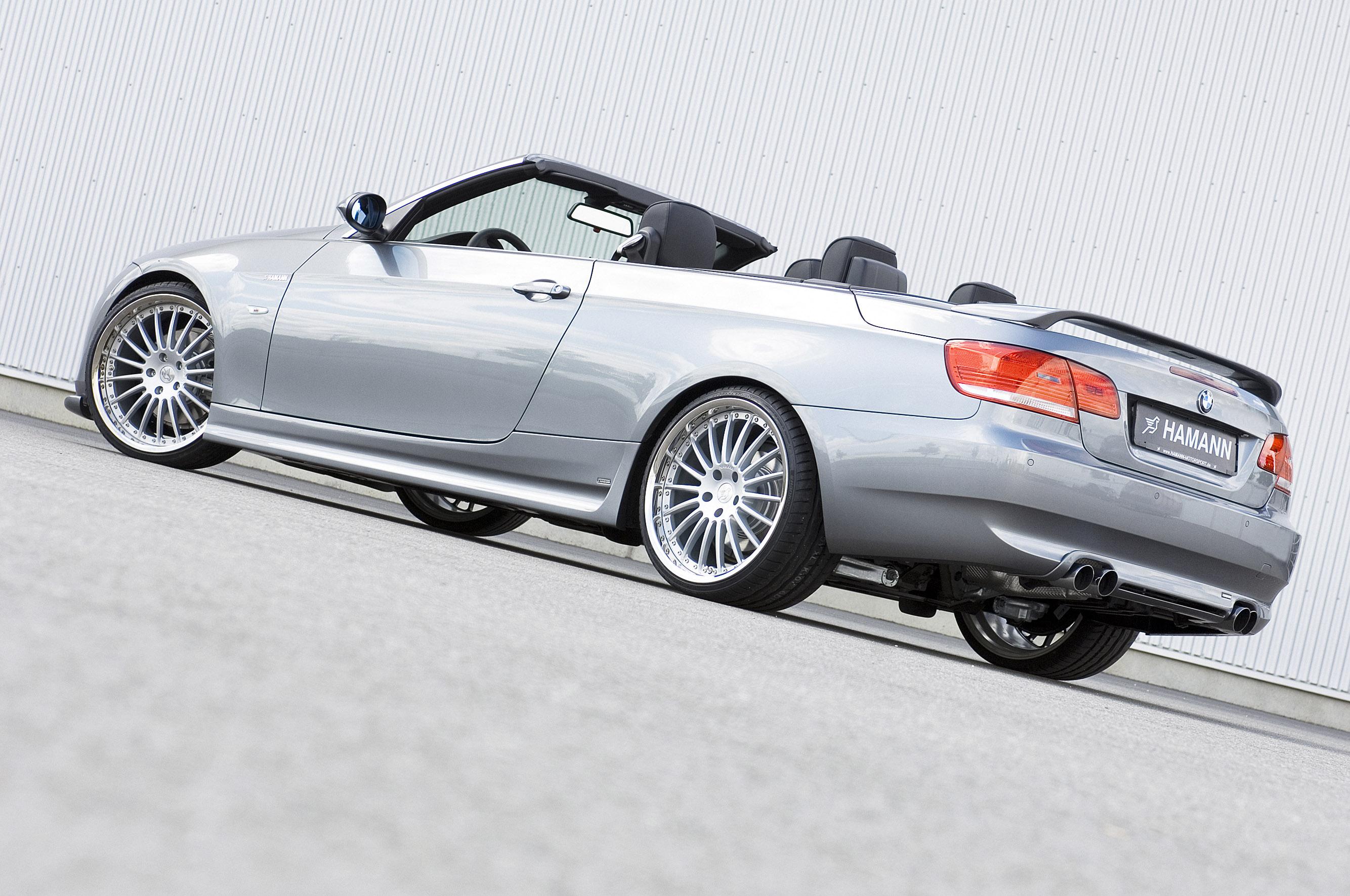 Hamann BMW 3er серии Cabrio - фотография №10