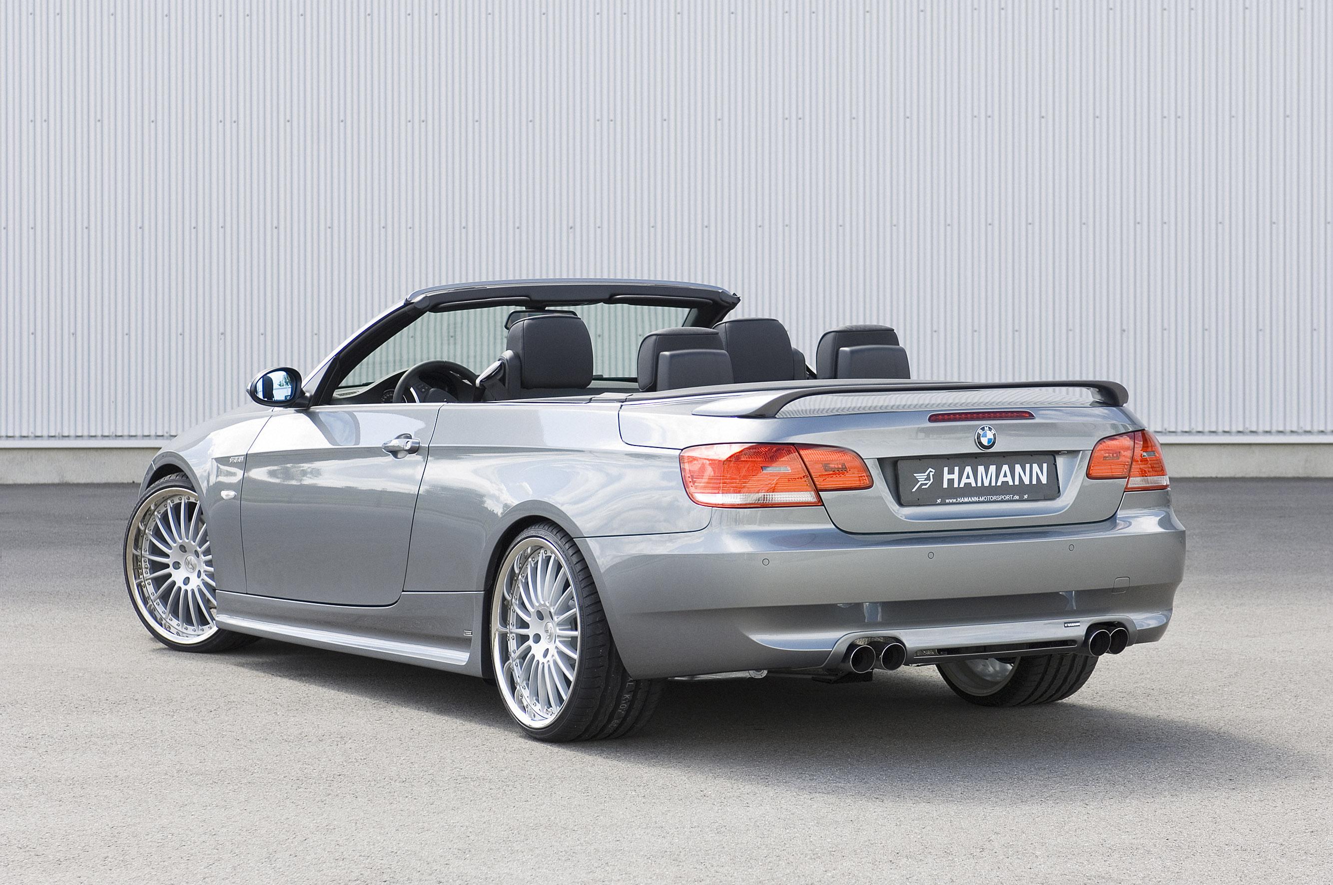 Hamann BMW 3er серии Cabrio - фотография №13
