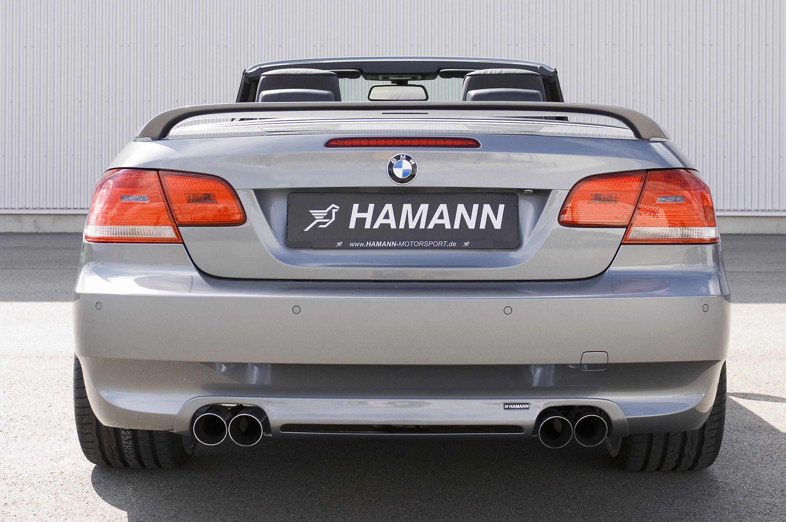 Hamann BMW 3er серии Cabrio - фотография №16