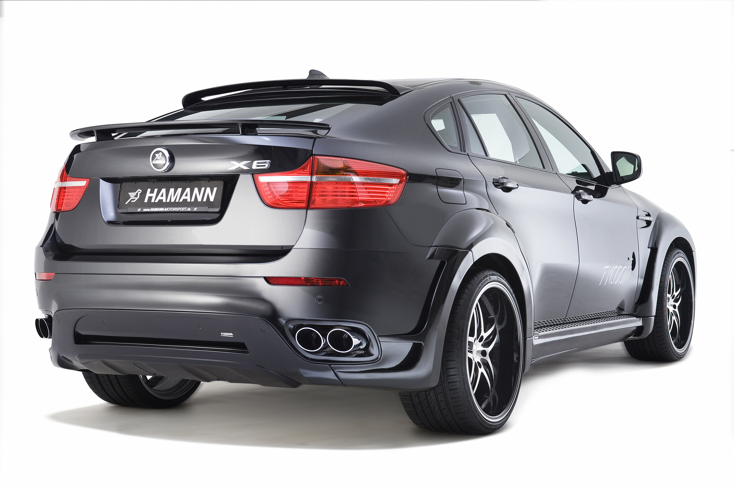 BMW X6 TYCOON By HAMANN - фотография №3
