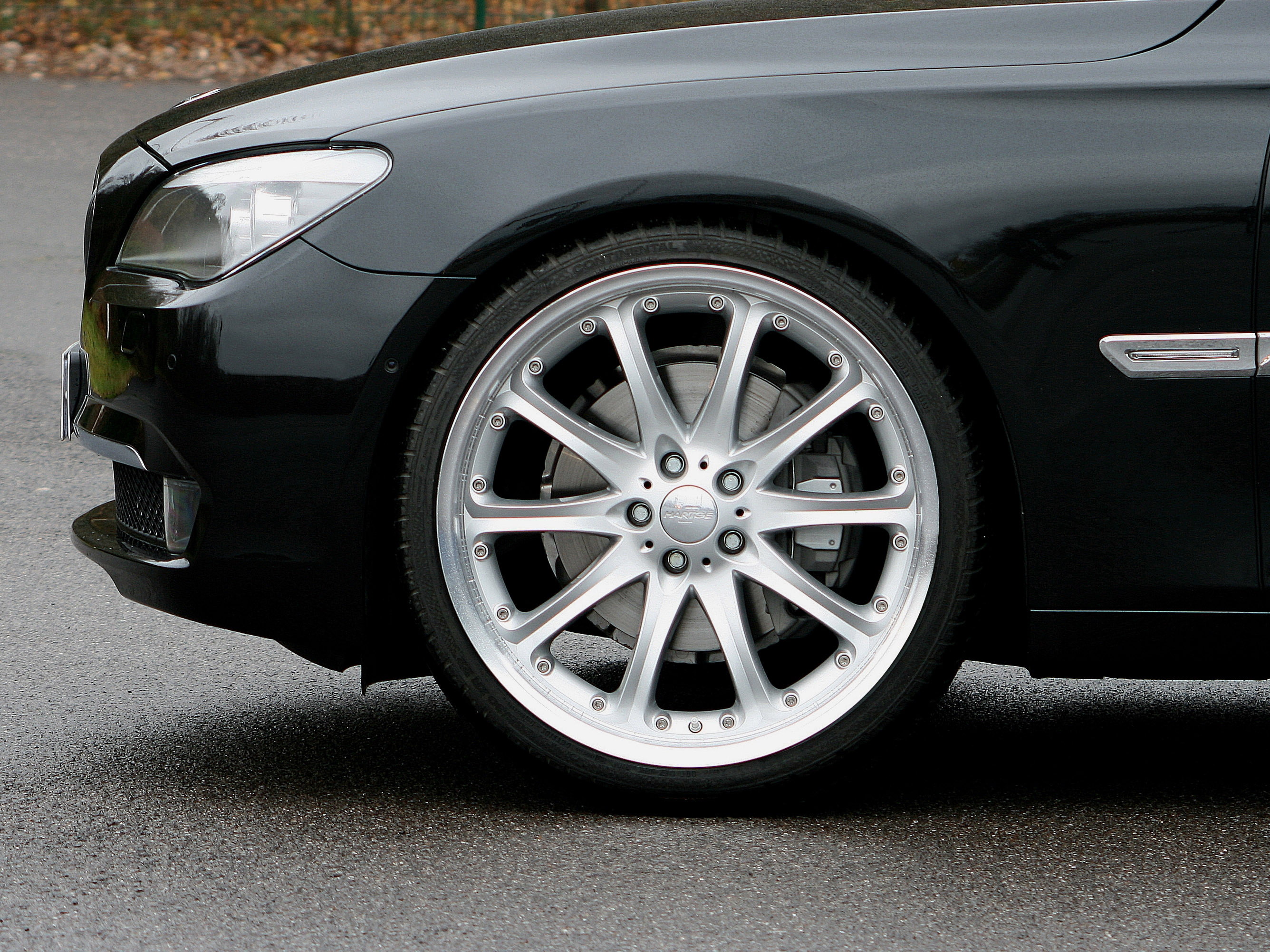 HARTGE 22-дюймовый классический комплект колес для BMW 7 серии - фотография №3