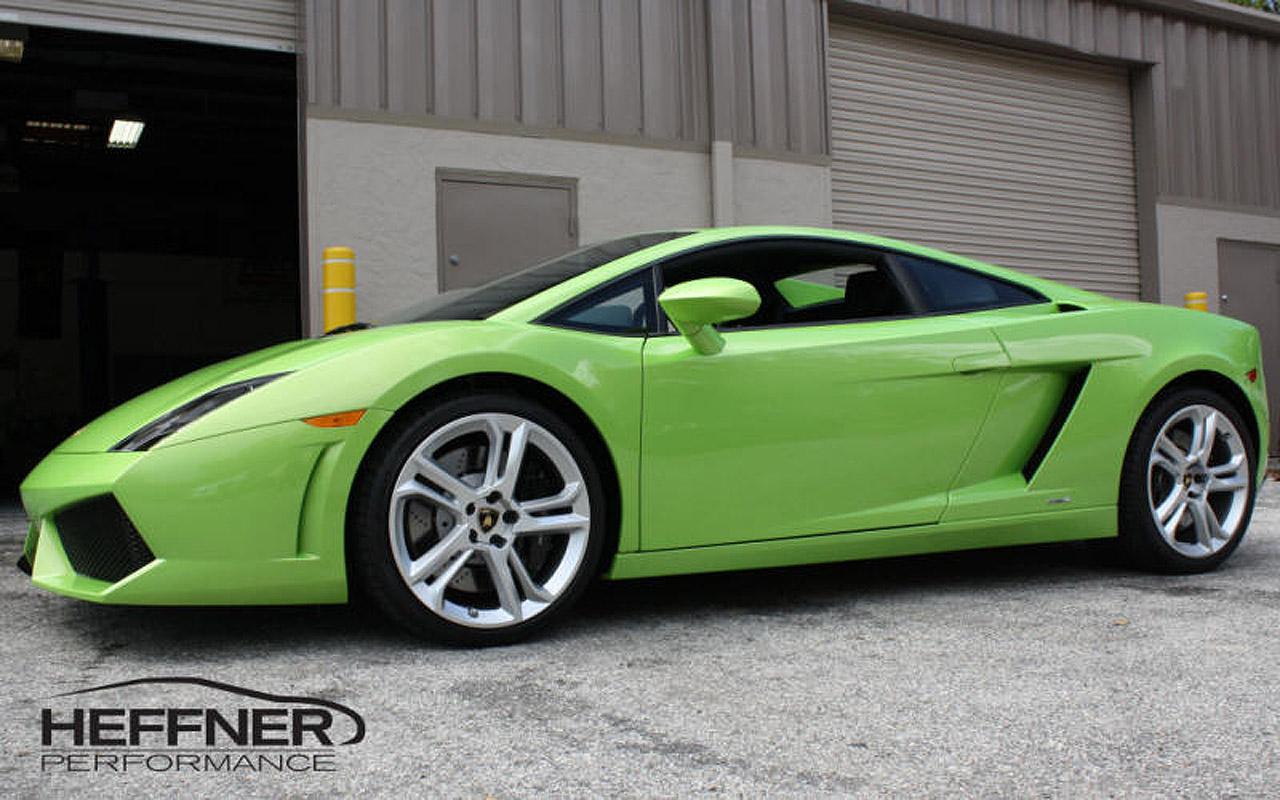 Хеффнер Performance Twin Turbo Lamborghini LP-560 [видео] - фотография №2