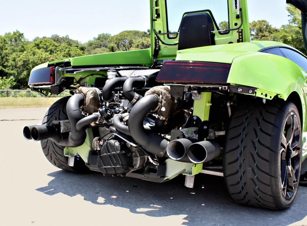 Хеффнер Performance Twin Turbo Lamborghini LP-560 [видео] - фотография №4
