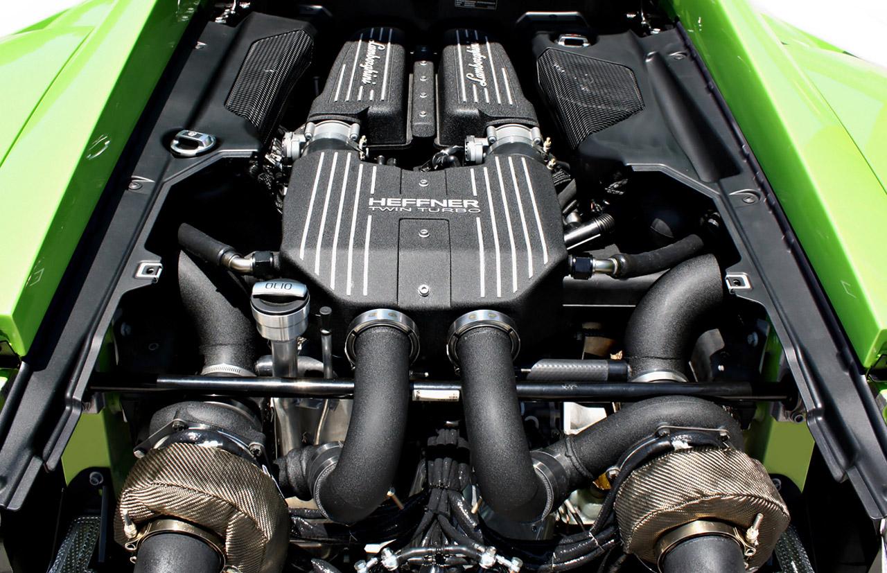 Хеффнер Performance Twin Turbo Lamborghini LP-560 [видео] - фотография №7