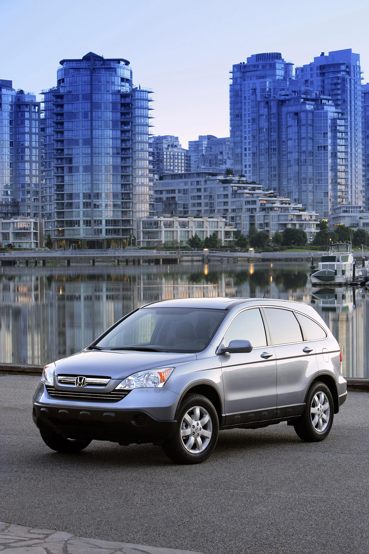 2009 Honda CR-V обеспечивает изысканный и стильный подход к записи-сегменте SUV - фотография №8