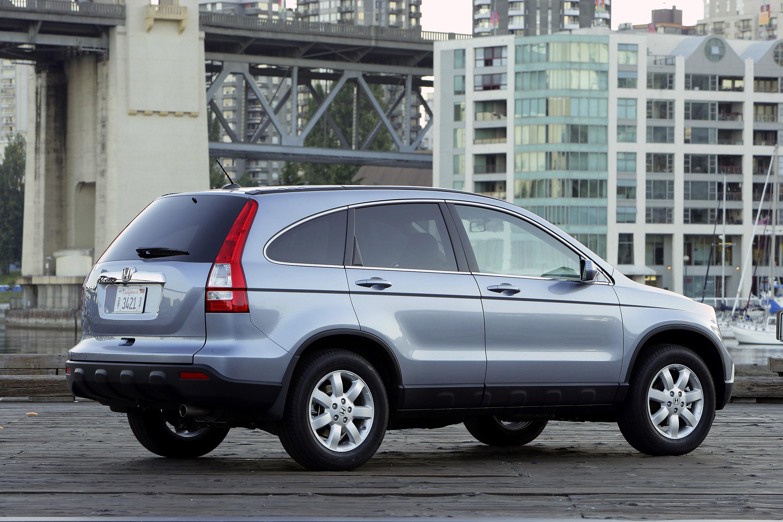2009 Honda CR-V обеспечивает изысканный и стильный подход к записи-сегменте SUV - фотография №9