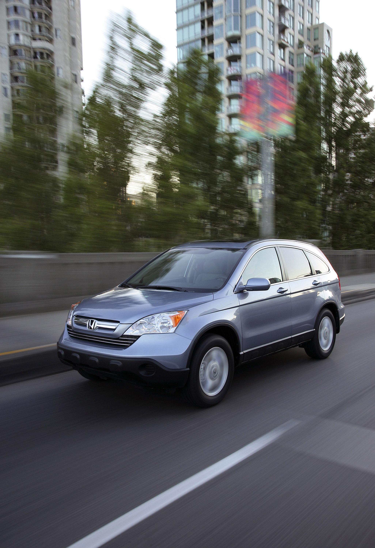 2009 Honda CR-V обеспечивает изысканный и стильный подход к записи-сегменте SUV - фотография №11