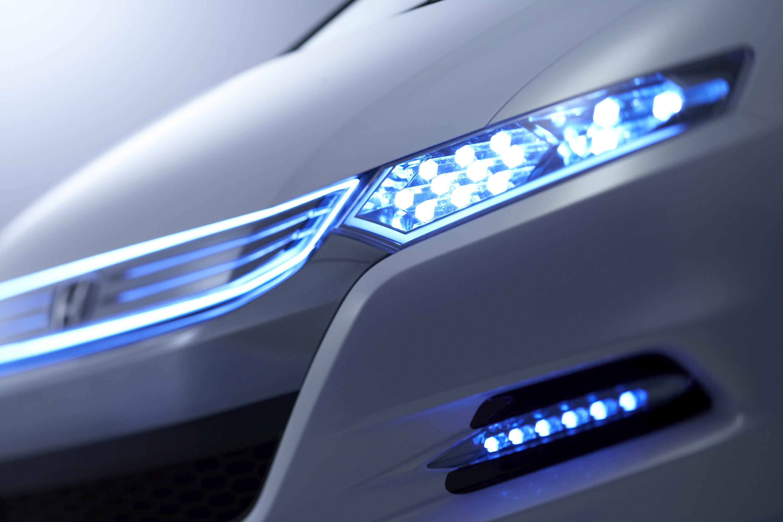 Honda Insight Concept гибридный автомобиль дебютирует на Парижском международном автосалоне - фотография №11