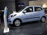 Hyundai i10 Blue ev Frankfurt 2011