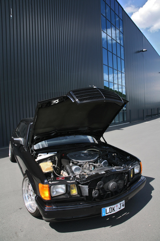 INDEN-Design Mercedes-Benz 560 SE - настоящий гангстерский автомобиль для бегства - фотография №9