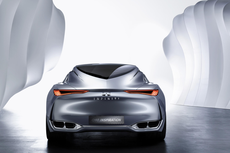 Компания Infiniti Q80 вдохновения показали на Парижском автосалоне