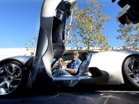 Jay Leno and Jaguar C-X75 Concept