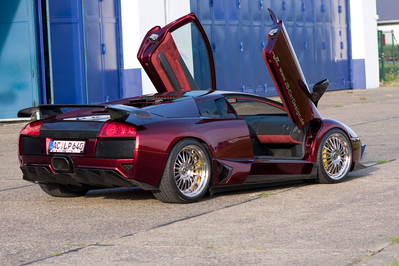 JB Car Design уточняет Lamborghini Murcielago LP 640 - фотография №2