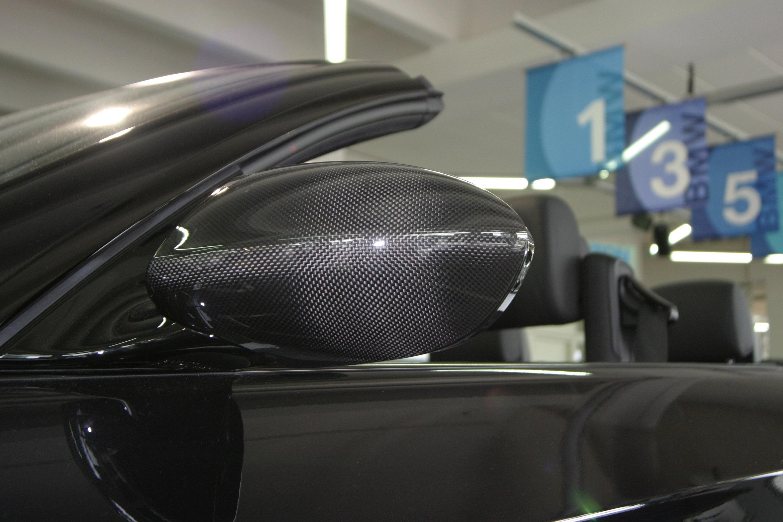 Carbon накладки на зеркала для BMW и VW, JMS Racelook - фотография №3