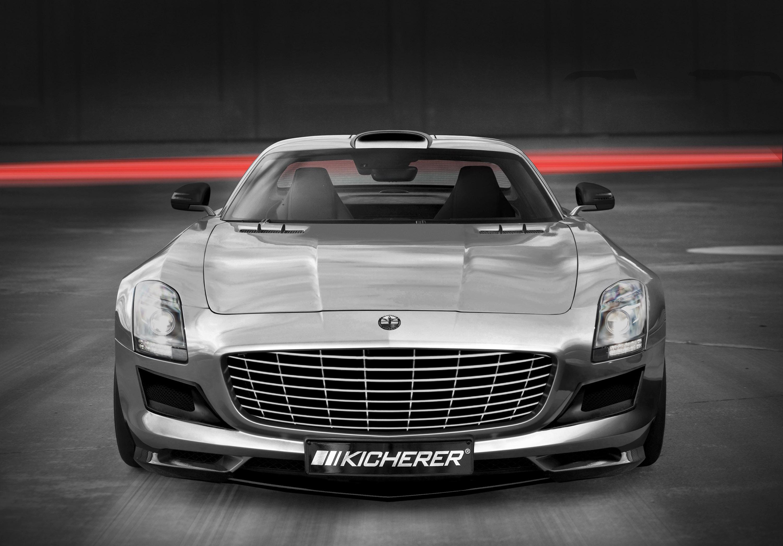 Kicherer уточняет 2010 Mercedes-Benz SLS AMG - фотография №3
