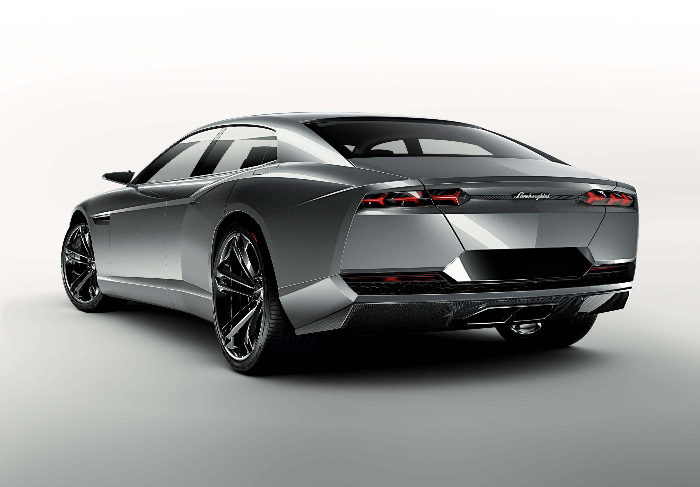 Lamborghini Estoque - Итальянский спортивный седан - фотография №3