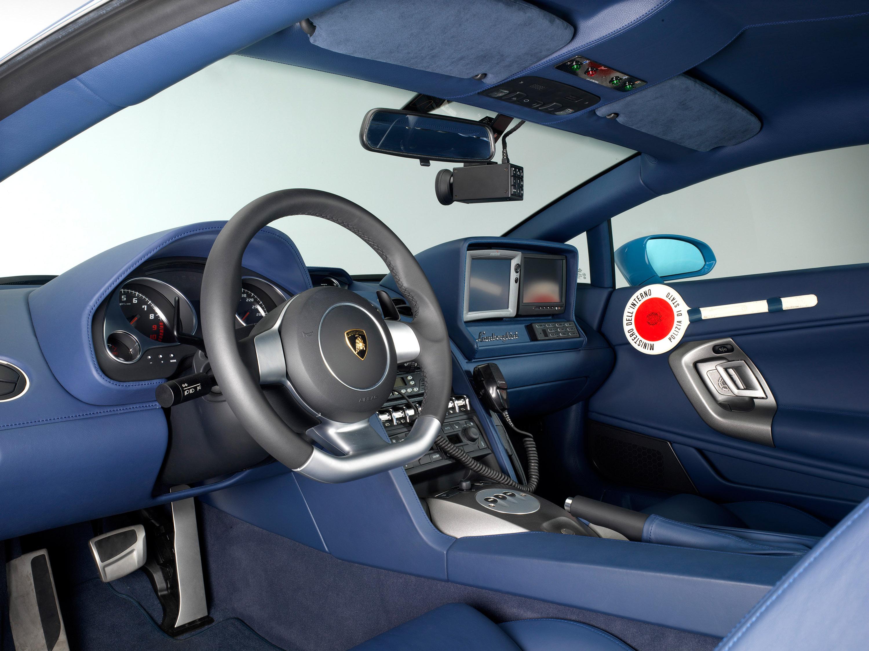 """Lamborghini отдает новых """"Gallardo LP560-4 Polizia"""" итальянской государственной полиции - фотография №5"""