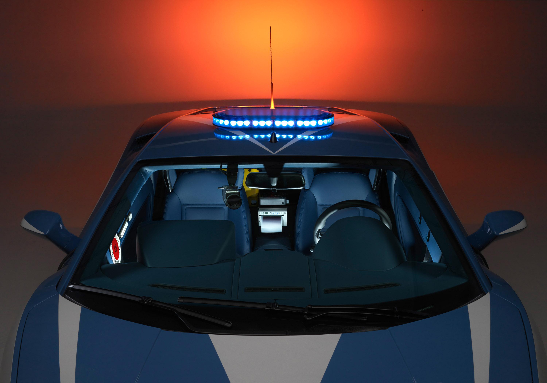 """Lamborghini отдает новых """"Gallardo LP560-4 Polizia"""" итальянской государственной полиции - фотография №6"""
