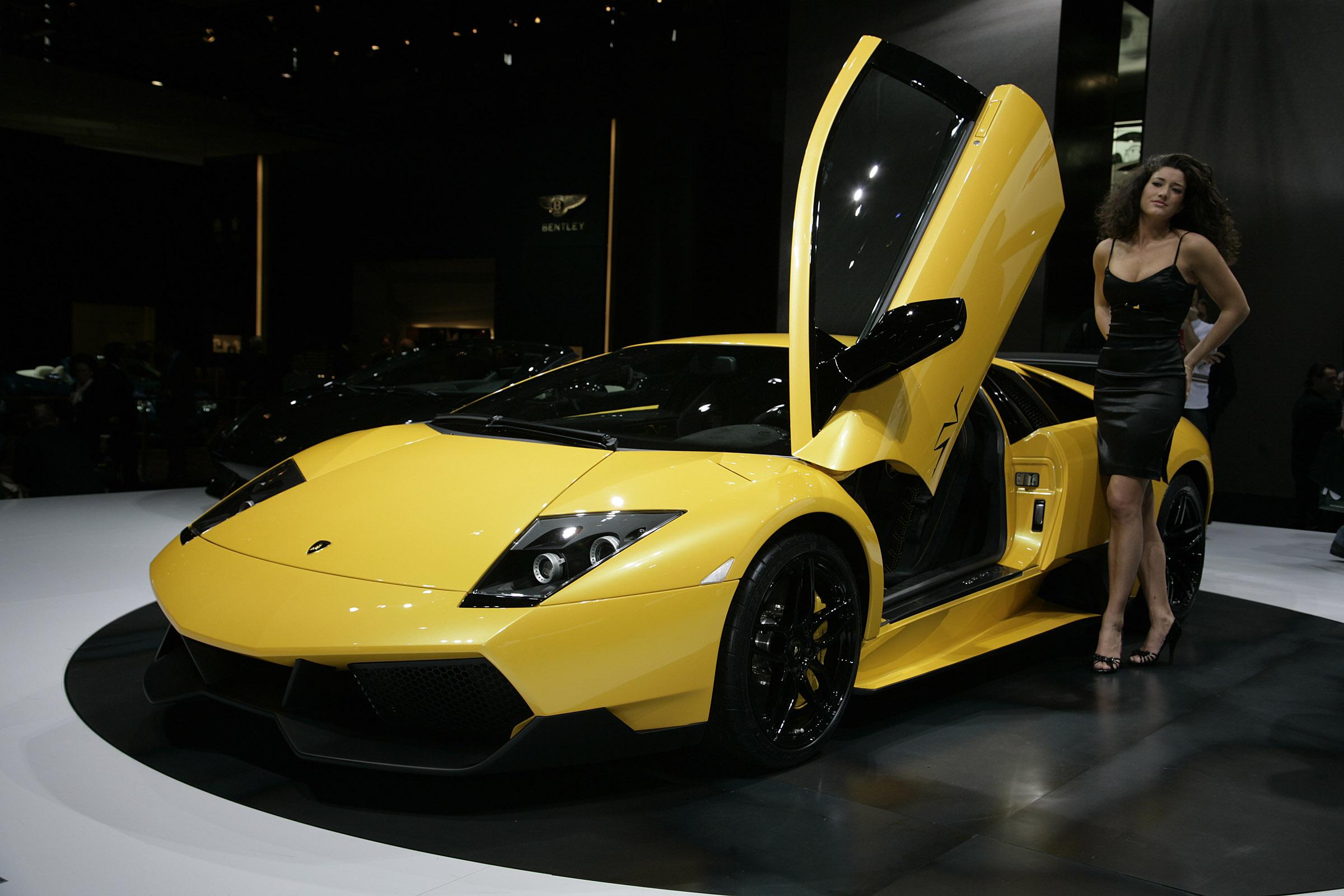 Lamborghini murcielago lp-670 4 superveloce geneva - 2009 - фотография №3