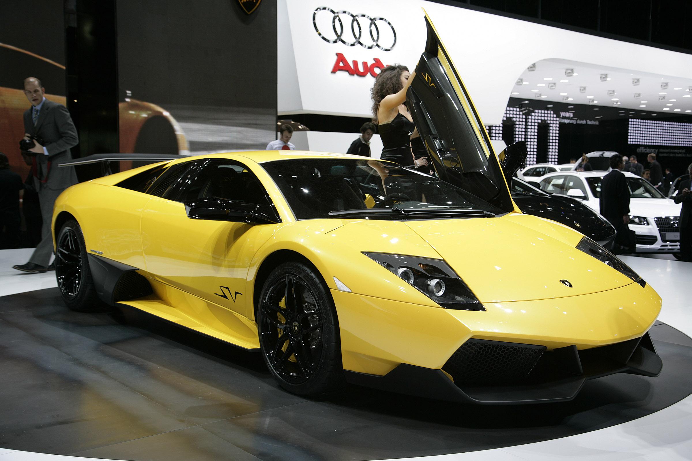 Lamborghini murcielago lp-670 4 superveloce geneva - 2009 - фотография №4