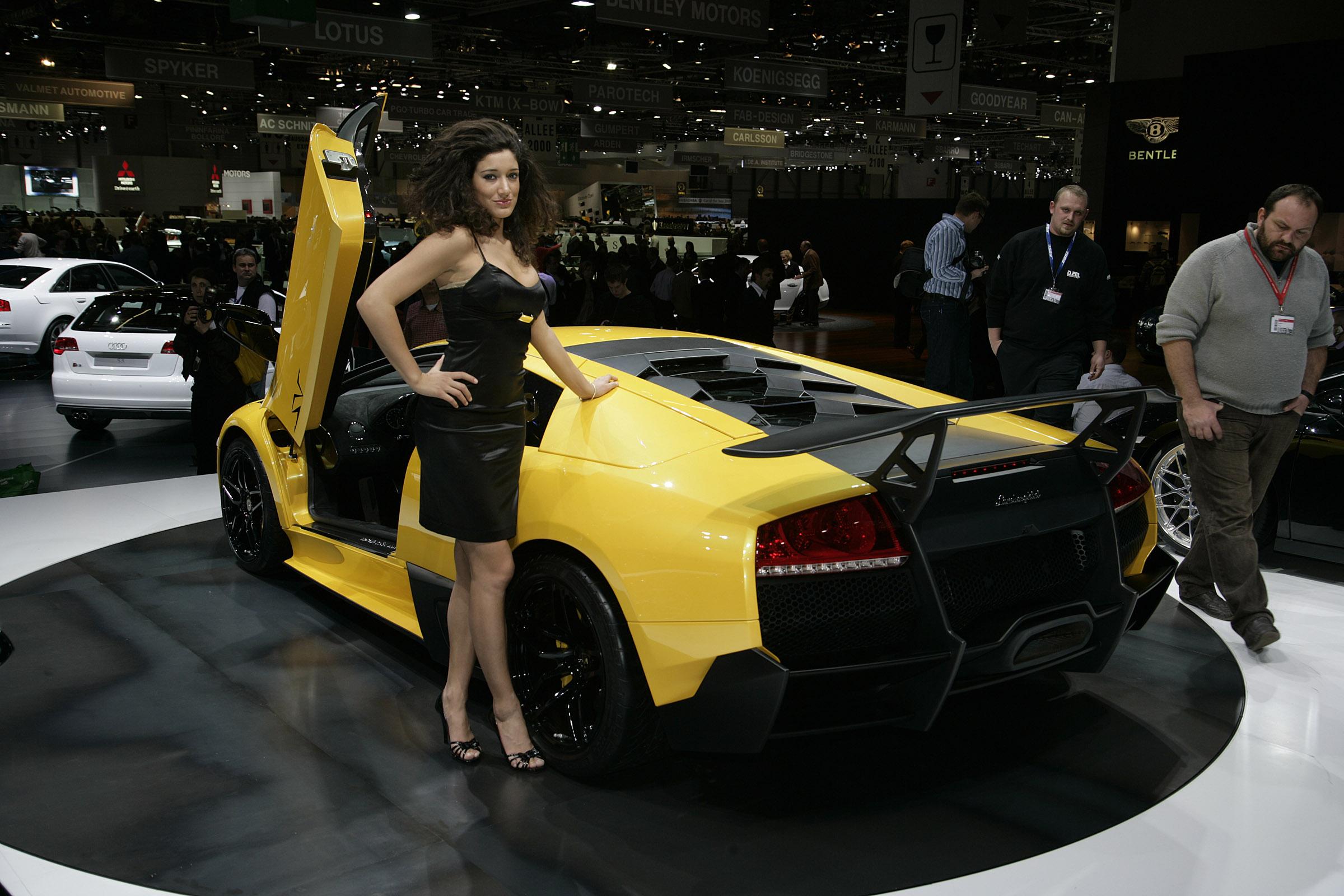 Lamborghini murcielago lp-670 4 superveloce geneva - 2009 - фотография №6