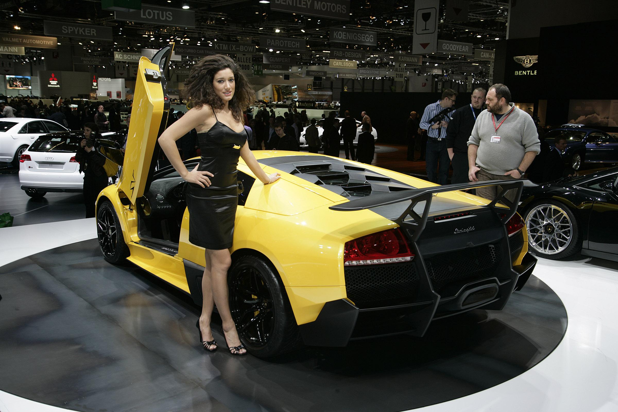 Lamborghini murcielago lp-670 4 superveloce geneva - 2009 - фотография №8