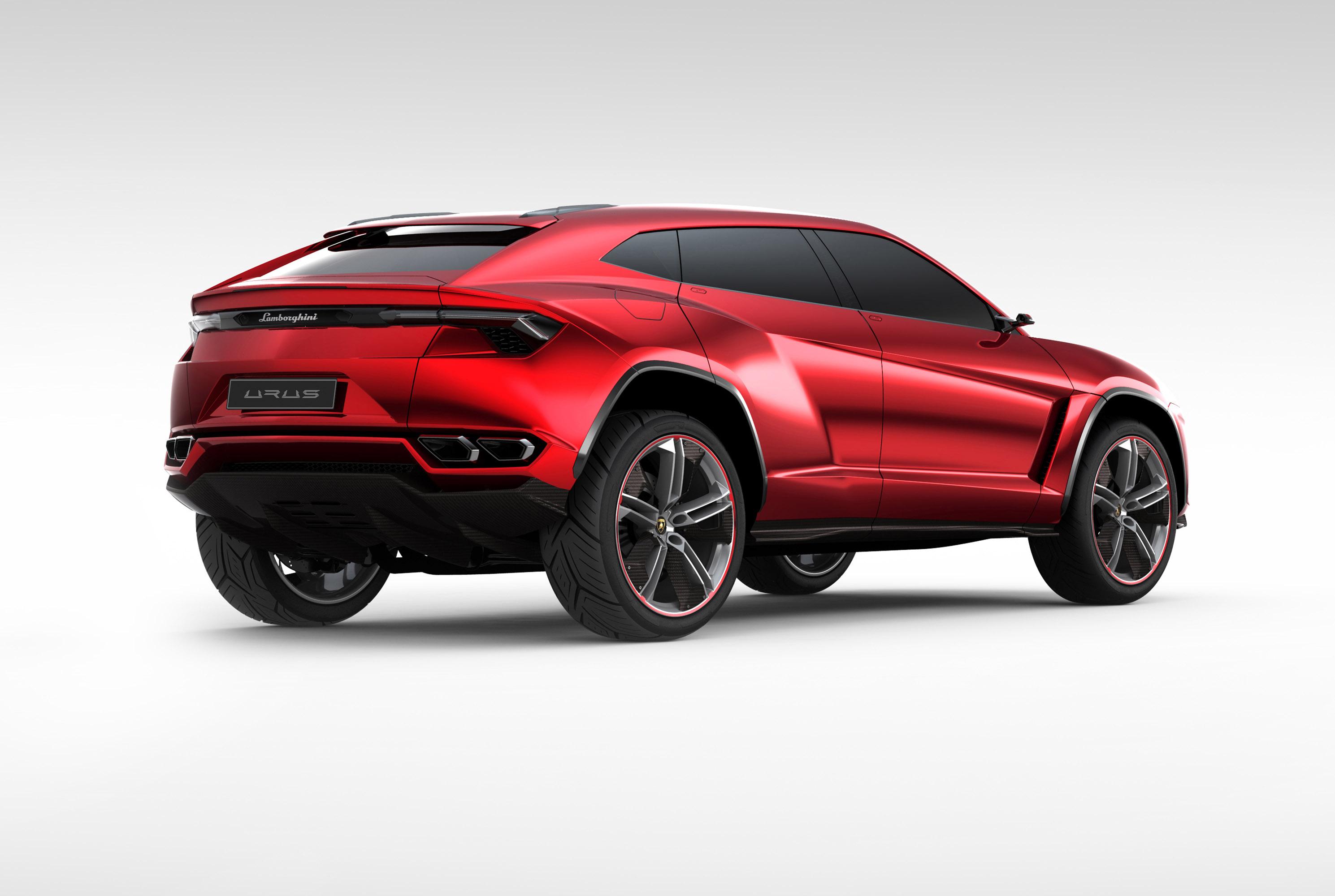 Lamborghini urus concept - фотография №2