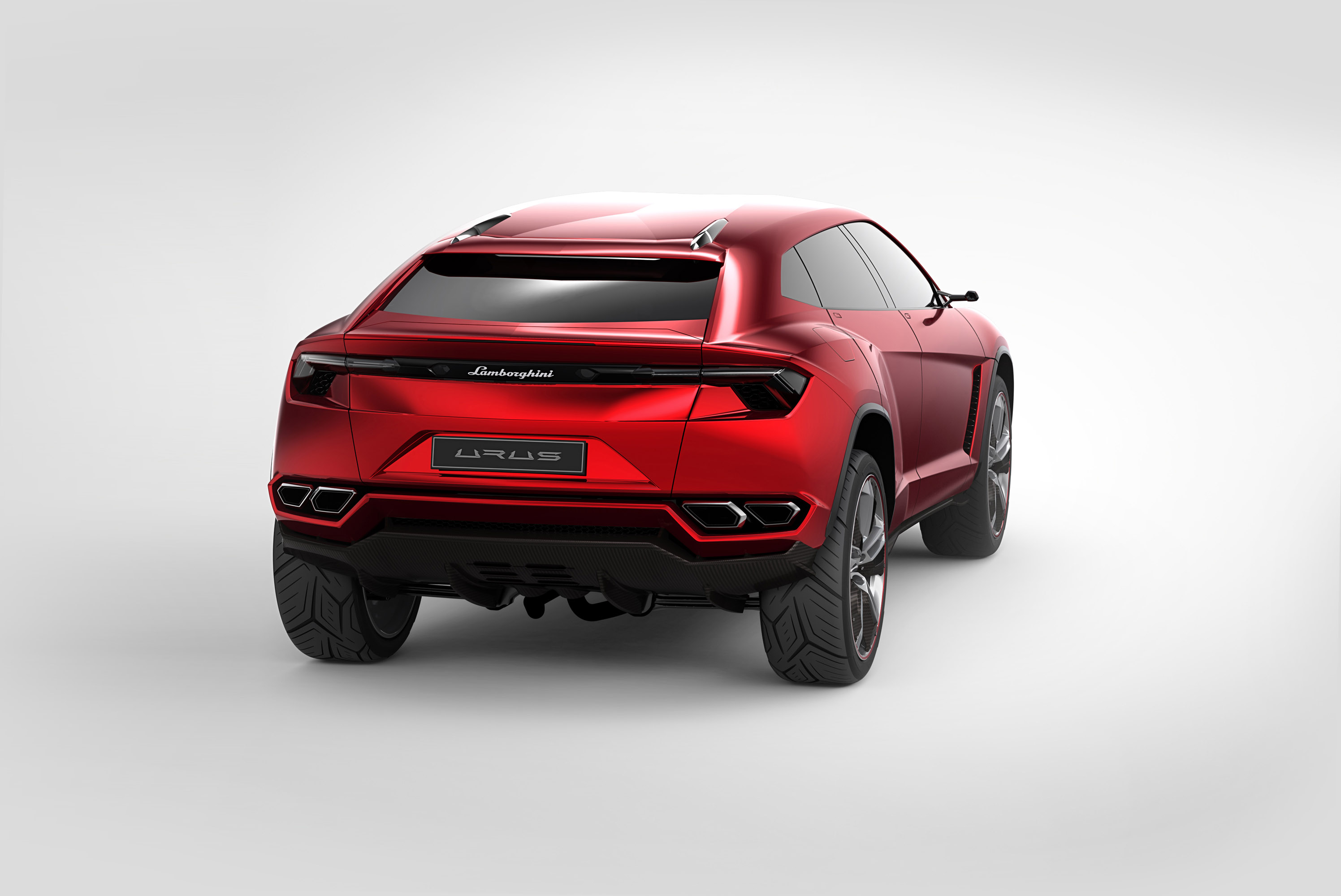 Lamborghini urus concept - фотография №3