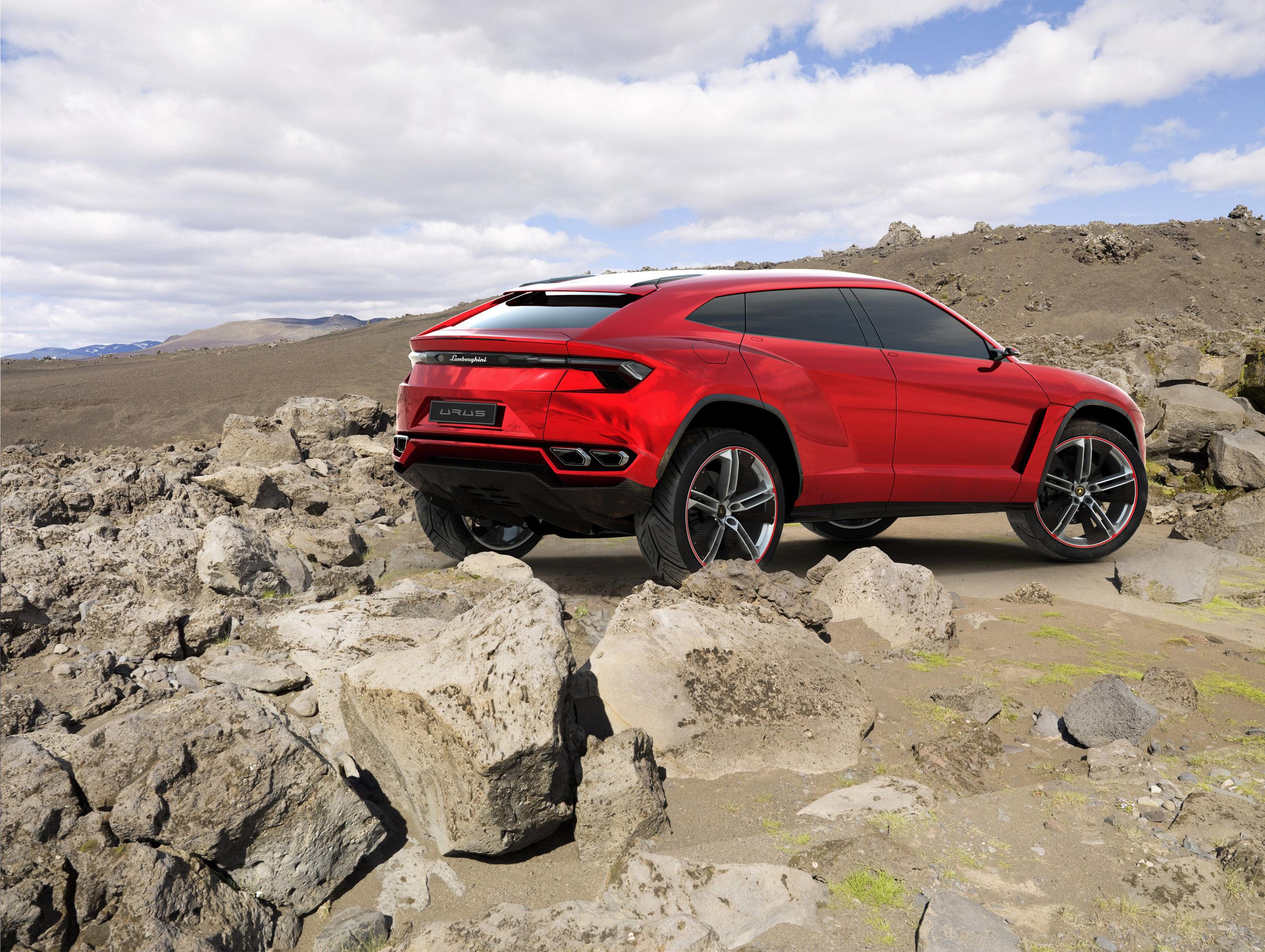 Lamborghini urus concept - фотография №11